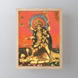 Hindu - Kali 5 Framed Mini Art Print