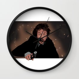"""""""Nakatomi"""" (no text) Wall Clock"""