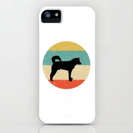 Korean Jindo Dog Gift design iPhone Case