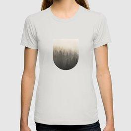 Mountain Foggy Mist Trees T-shirt