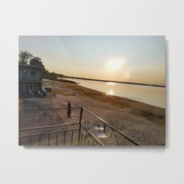 Summer Sunrise on Lake Champlain Metal Print