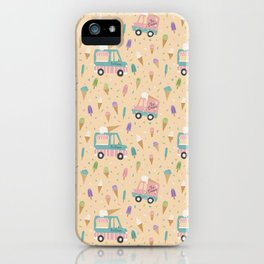 Ice Cream Trucks and Treats iPhone Case