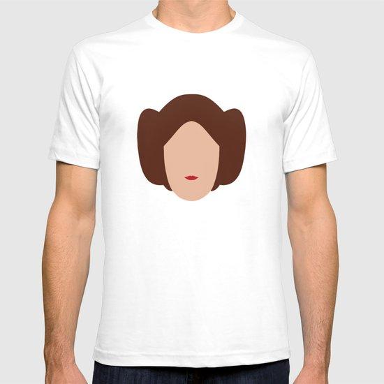 Star Wars Minimalism - Princess Leia T-shirt