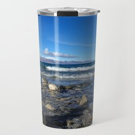 Heavenly Lake Namtso Tibet Travel Mug