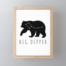 Big Dipper Family Framed Mini Art Print