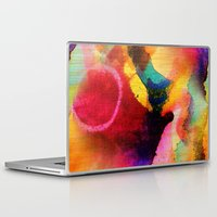 circles Laptop & iPad Skins featuring Circles by mimulux