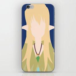 Tiffania Westwood (The Familiar of Zero) iPhone Skin