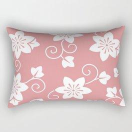 Flower pattern pink Rectangular Pillow