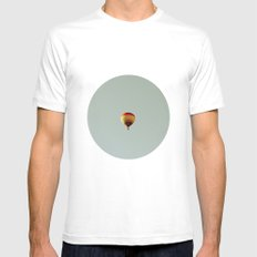 fly with me Mens Fitted Tee White MEDIUM