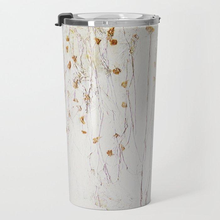 little flower Travel Mug