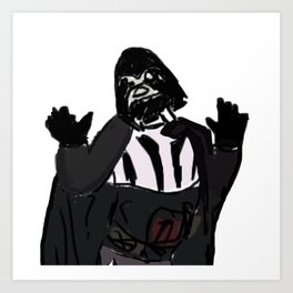 Sassy Vader Art Print