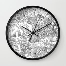 Contamination Wall Clock