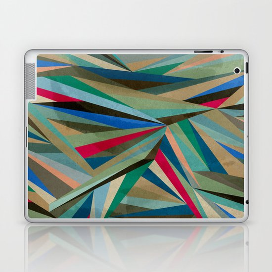 Travel Fragments Laptop & iPad Skin