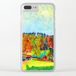 Spencer Gore Autumn Sussex Clear iPhone Case