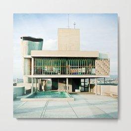 Toit Cité Radieuse - Le Corbusier - Marseille  Metal Print
