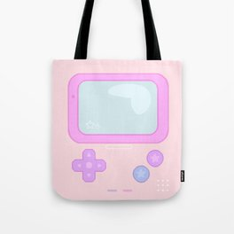 Pastel Game Boy Tote Bag