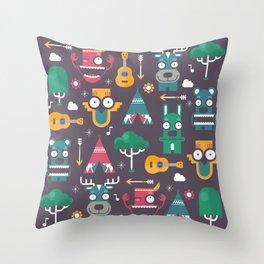 Woodland Animals | Season 1 Throw Pillow