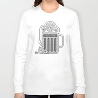 beer Long Sleeve T-shirts featuring Beer by twincollective