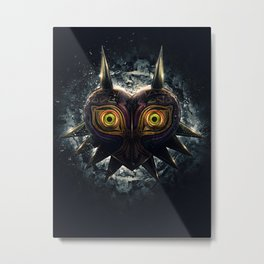 Epic Pure Evil of Majora's Mask Metal Print