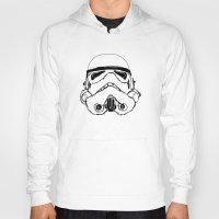 trooper Hoodies featuring Trooper  by Owen Lloyd
