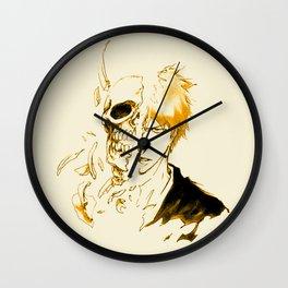Ichigo Kurosaki GOld Skull Wall Clock