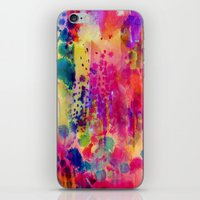 wander iPhone & iPod Skins featuring Wander by Amy Sia