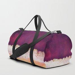 Maroon Ocean Duffle Bag