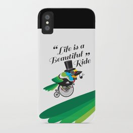 Life is a Beautiful Ride iPhone Case