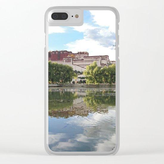 Potala Palace Tibet Clear iPhone Case