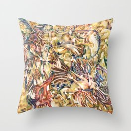 Daemon Tempura Glump Throw Pillow