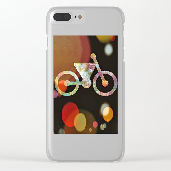 Bicycle Brown Derby Clear iPhone Case