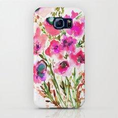 Bouquet Pink Galaxy S6 Slim Case