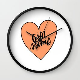 Girl Squad Wall Clock