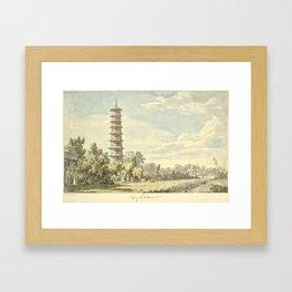 Pagoda at Kew Framed Art Print