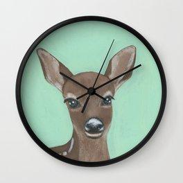 Cynthia the Deer Wall Clock