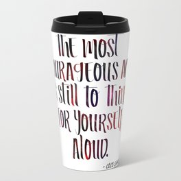 Courageous by Coco Travel Mug