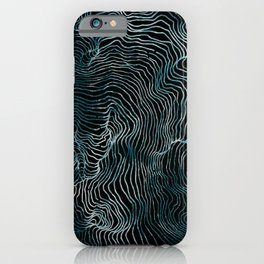 Lines of the Tide iPhone Case