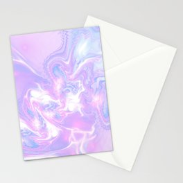 Purple Fantasy Marble Stationery Cards