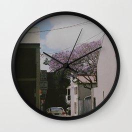 Jakaranda I Wall Clock