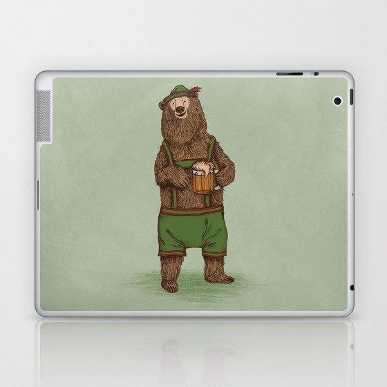 Traditional German Bear Laptop & iPad Skin
