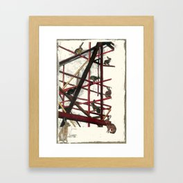 """Balance""  Framed Art Print"