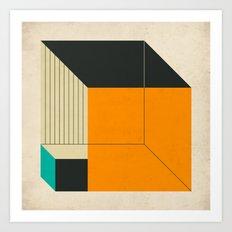 CUBES (14) Art Print