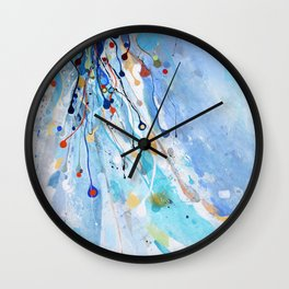 The begins of the life Wall Clock
