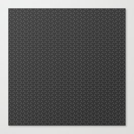 Y Weave Interlocking Pattern 01 Canvas Print