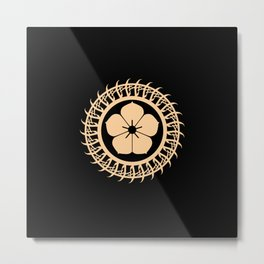 Protective circle Metal Print