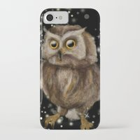 hedwig iPhone & iPod Cases featuring My Hedwig by Mathis Designs