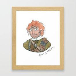 Jamie Fraser Framed Art Print