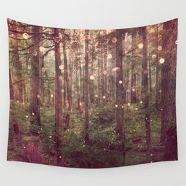 Autumn Lights Wall Tapestry
