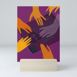 Dark Magic Ouija board: Nikita Abuya Mini Art Print
