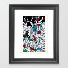- lizard - Framed Art Print